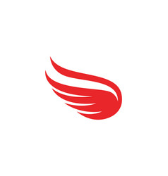 Flacon wing template icons design vector