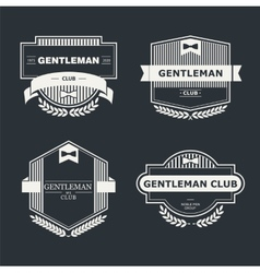 Gentleman club vector image vector image