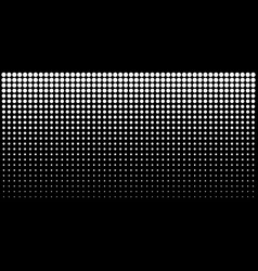gradient halftone dots background horizontal vector image