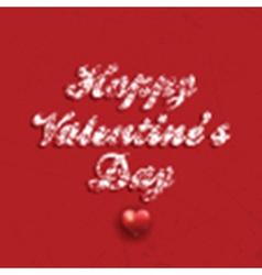 Grunge Valentines Day background vector