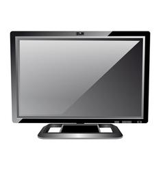 LCD computer monitor vector image