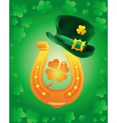 leprechaun icon vector image