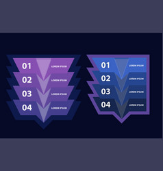 Modern inforgraphic template business vector