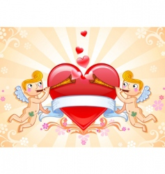 val card cup vector image vector image