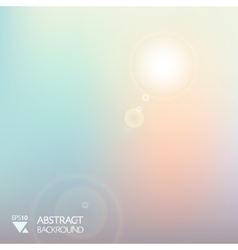 abstract sofl light background vector image