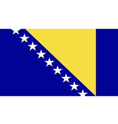 Bosnia and Herzegovina vector image