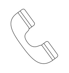Call center telephone symbol vector