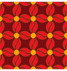 Flower seamless pattern 2 vector image