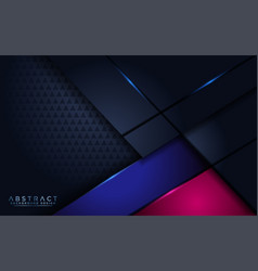 Futuristic abstract modern navy background with vector