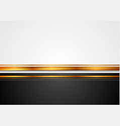 grey and black corporate background with bronze vector image