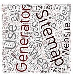 JP generator sitemap text background wordcloud vector