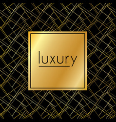 luxury dark abstract seamless pattern vector image vector image