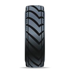 modern car tire icon vector image