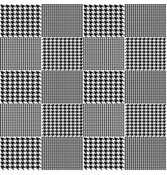 creative of fabric houndstooth vector image