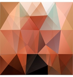 Colorful mosaic triangle background vector image vector image