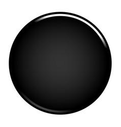 black circle button blank web internet icon vector image