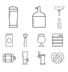 craft and pub symbol vector image