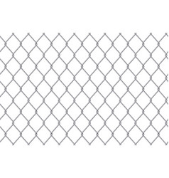 Creative of chain link fence vector