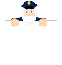 Grandparent and poster vector image