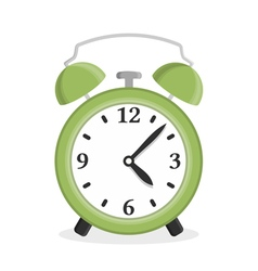 Green Alarm Clock vector