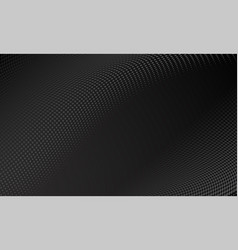 modern black halftone pattern background trend vector image