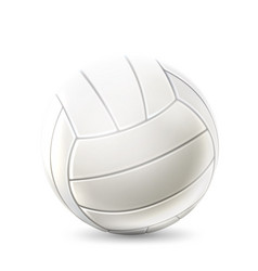 realistic volley ball for betting design vector image