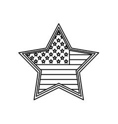 united states patriotic symbol vector image