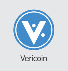 Vericoin digital currency coin trading vector