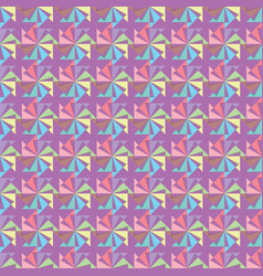 color geometric background vector image