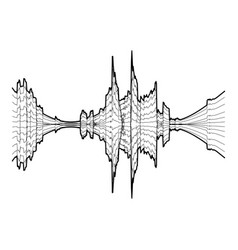 Audio equalizer meter icon simple black style vector