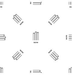 bucatini pattern seamless vector image