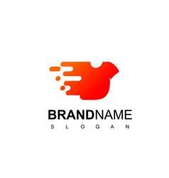 clothes logo design inspiration vector image