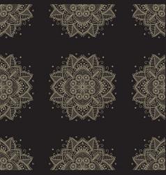 Indian pattern arabic oriental motifs vector