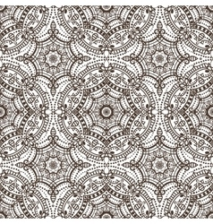 Mandala seamless patternOrient ethnic ornament vector image