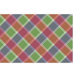 mosaic pixel check plaid seamless pattern vector image