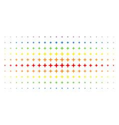 Space star spectral halftone matrix vector