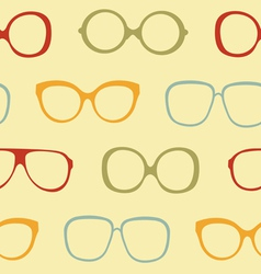 Sunglasses pattern vector