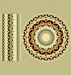 ukrainian ornament vector image
