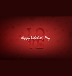 Valentines day abstract greeting card poster vector