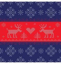 Winter Christmas New Year Background vector image