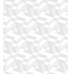 isometric seamless pattern vector image