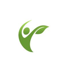 body healthy logo vector image