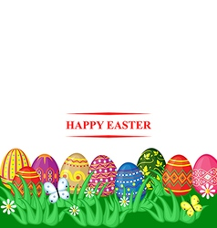 easter color vector image