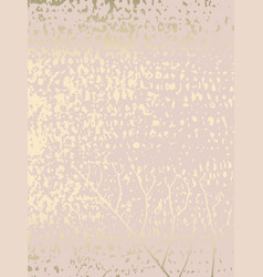 Elegant pink blush gold chic marble grunge texture vector