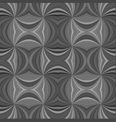 Grey seamless psychedelic abstract curved stripe vector