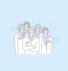 Healthcare medicine covid19 infection 2019ncov vector