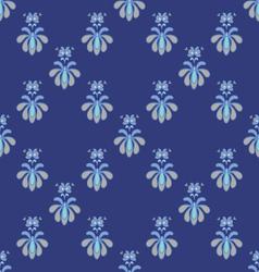 Spring ornaments niceblue vector