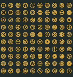 victorian seamless pattern design steampunk vector image