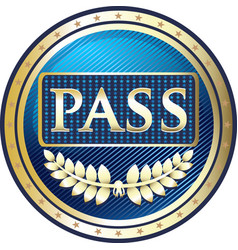 Vip pass icon vector