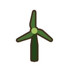 Wind energy green alternative vector